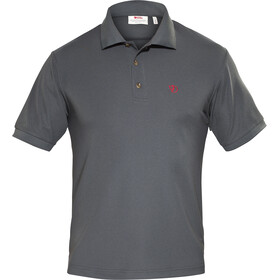 Fjällräven Crowley Piqué Poloshirt Heren, mountain grey